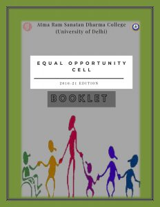 Equal Opportunity Cell Booklet