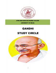 Gandhi Study Circle Booklet